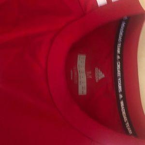 Adidas soccer t shirt M